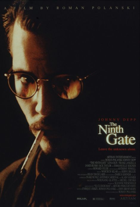 the ninth gate movie poster johnny depp roman polanski
