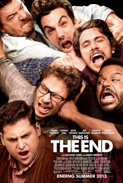 this is the end movie poster 2013