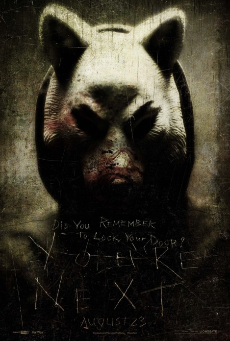 you're next movie poster 2013 aj bowen sharni vinson