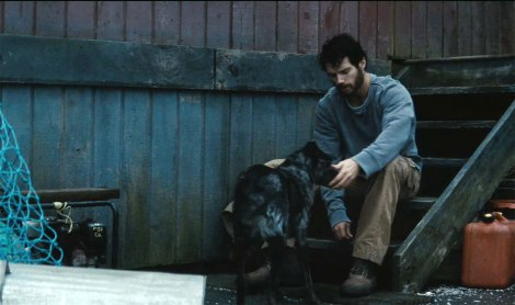 man of steel movie henry cavill dog