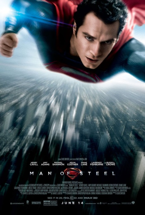 man of steel poster 2013 henry cavill