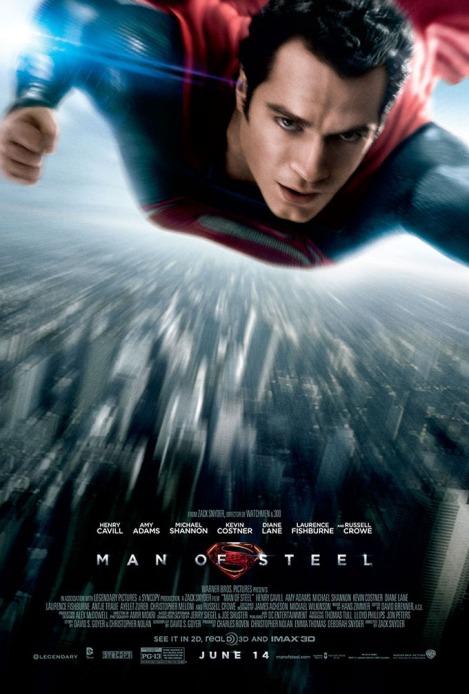 man of steel poster 2013 henry cavill