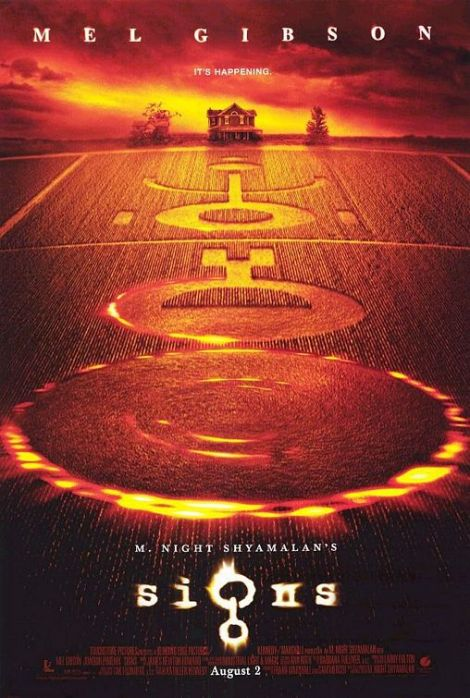 signs movie poster 2002 mel gibson