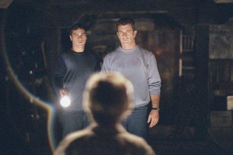 signs movie rory culkin basement flashlight