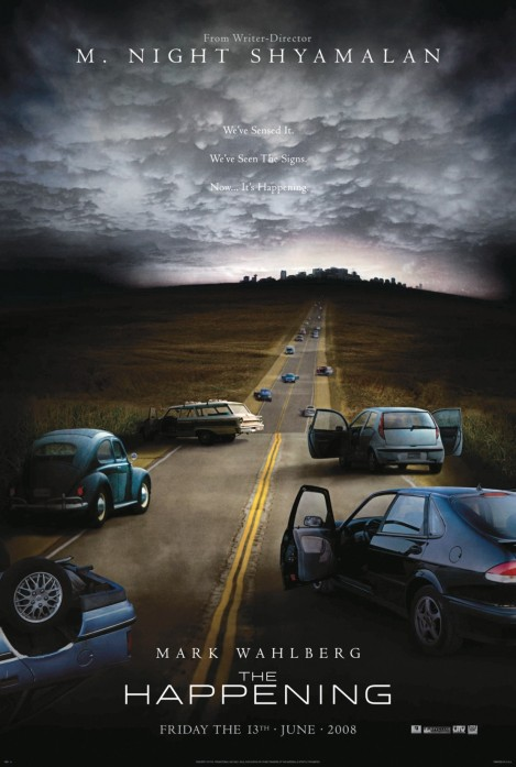 the happening movie poster large 2008