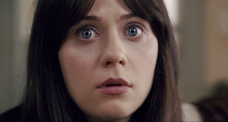 the happening movie zooey deschanel staring eyes