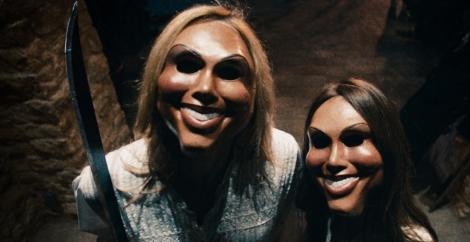 the purge movie masks girls killers peephole