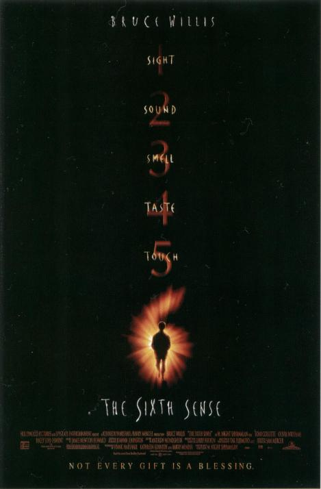 the sixth sense movie poster 1999
