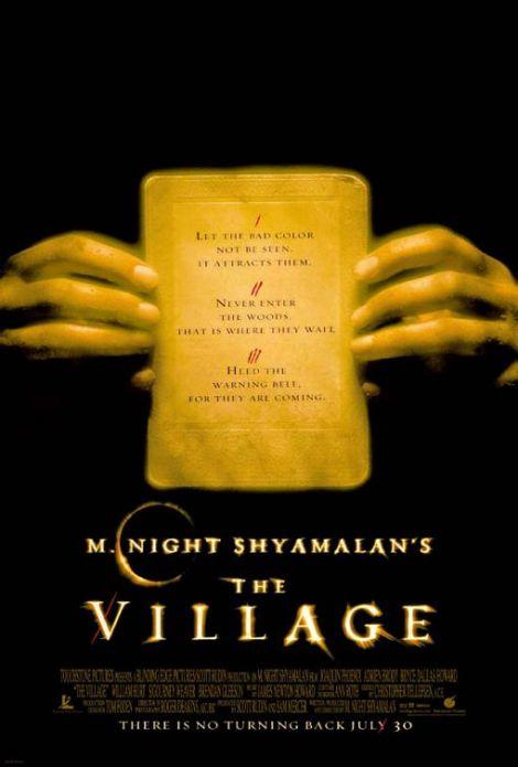 the village movie poster 2004 shyamalan
