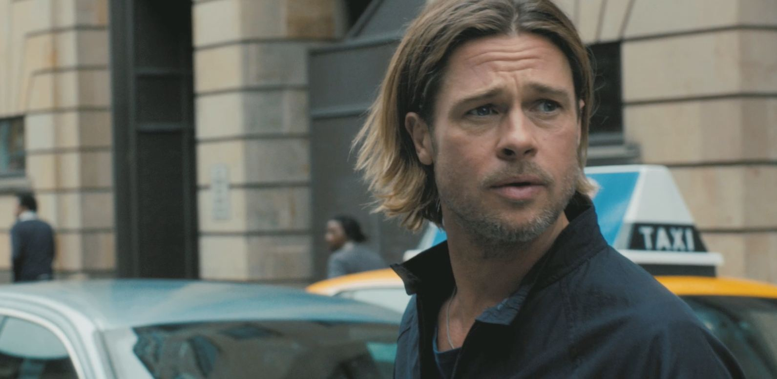 """6. World War Z (2013): A short-term solution was found to keep non-infected people safe, but the main character says, """"We're all still screwed."""" Therefore, we all need a sequel to know what happens next."""