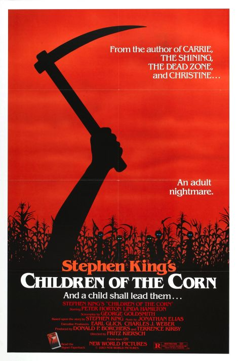 children of the corn poster 1984 large
