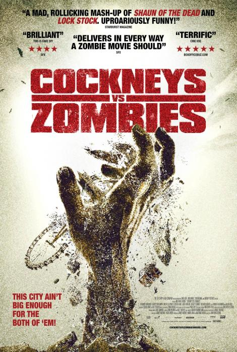 cockneys vs zombies movie poster 2012 big