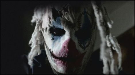 frayed movie clown mask slipknot