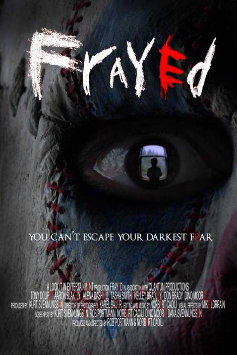 frayed movie poster 2007 clown