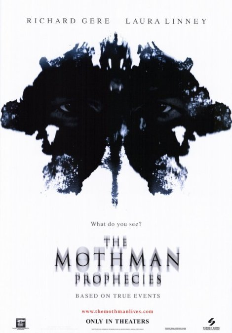mothman prophecies movie poster big 2002