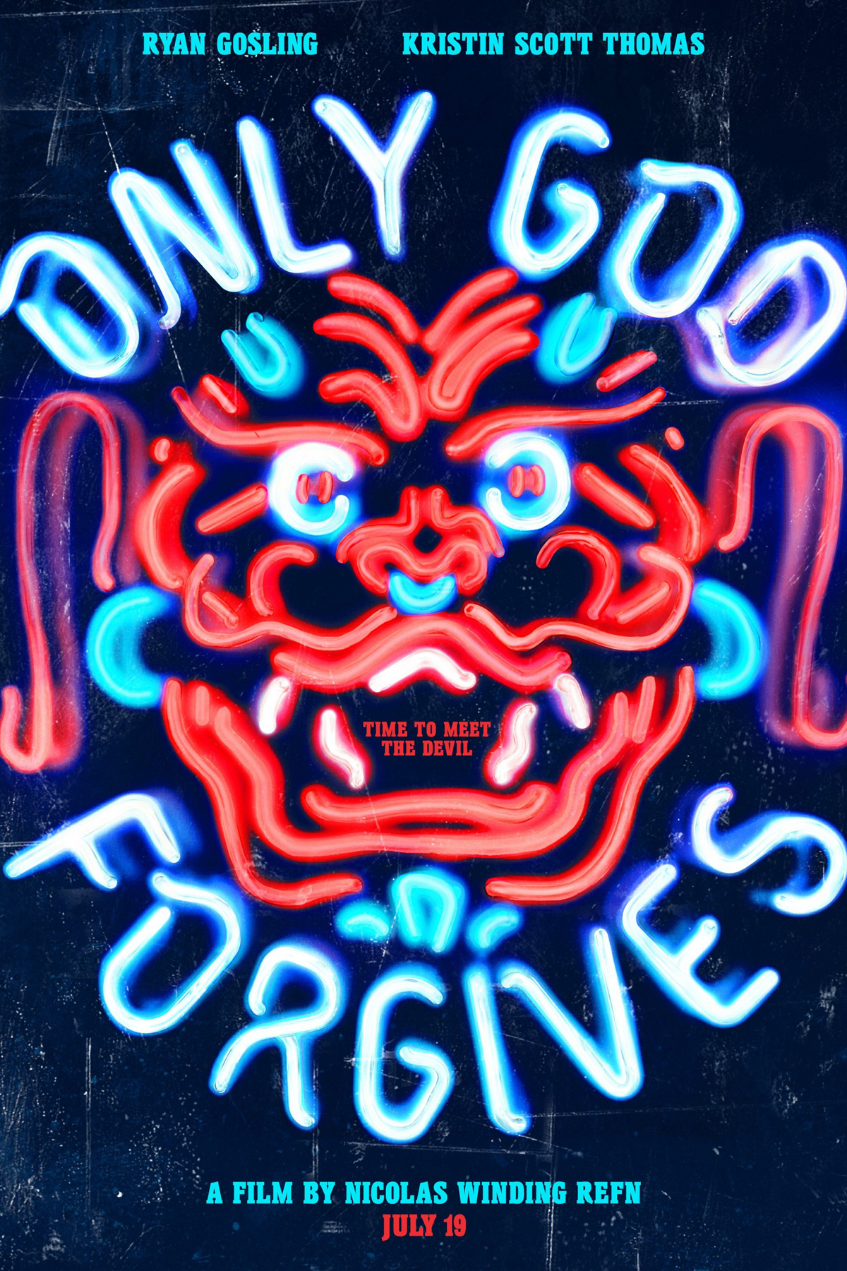 Only God Forgives Neon Poster Only God Forgives (201...