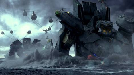 pacific rim movie jaeger robots ocean big