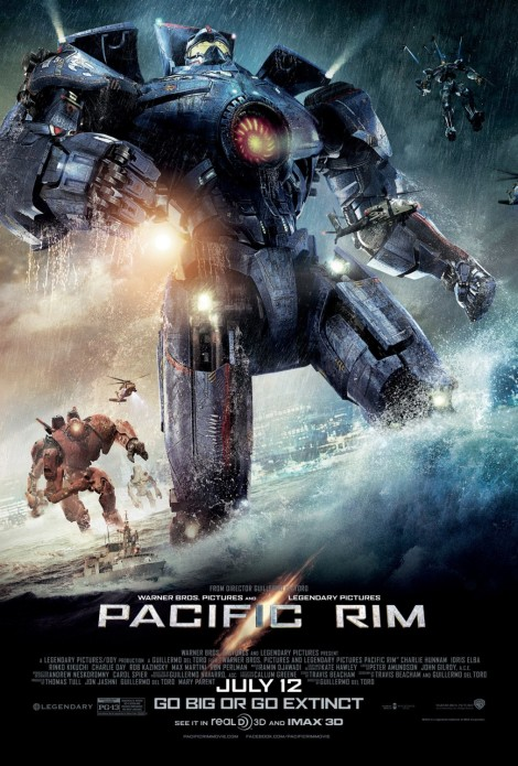pacific rim movie poster large 2013