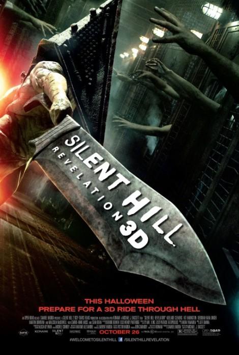 Silent Hill Revelation 3D poster
