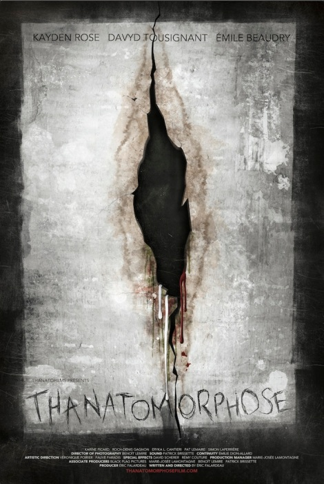 thanatomorphose poster big 2012 bloody vagina wall
