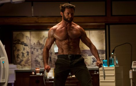 the wolverine hugh jackman shirtless veins