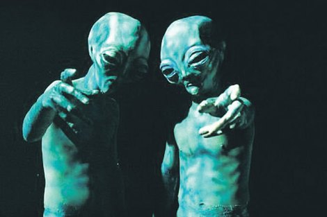 the x files aliens