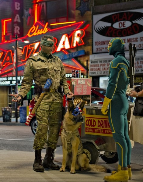 kick-ass 2 jim carrey colonel stars and stripes