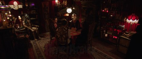 insidious chapter 2 dice seance gas mask room