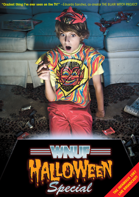wnuf halloween special dvd cover movie poster