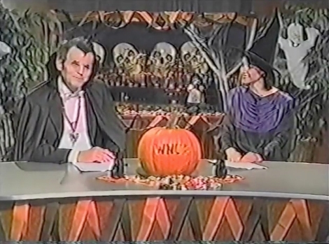 wnuf halloween special news anchors vhs