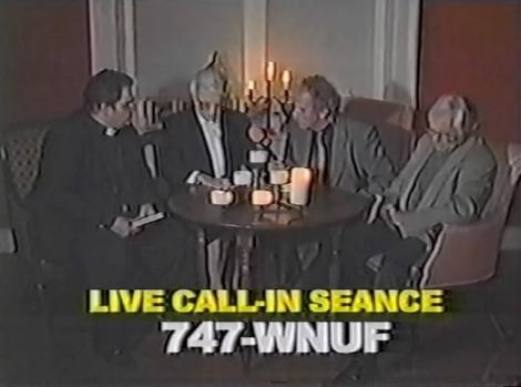 wnuf halloween special seance frank stewart call in