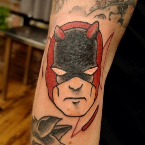 daredevil tattoo marvel comics