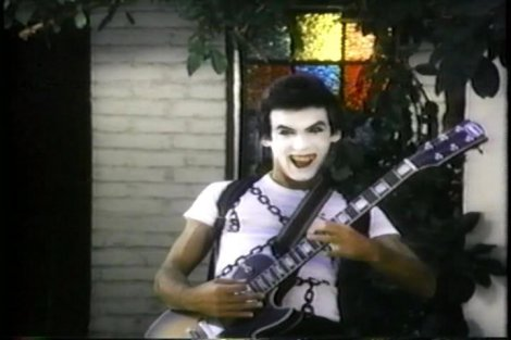 home sweet home movie guitar makeup mime magic 1981