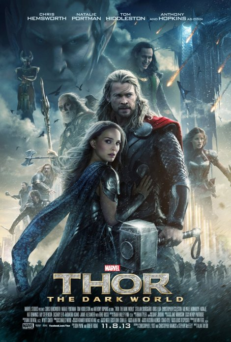 thor the dark world movie poster big large 2013
