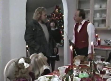 elves movie dan haggerty dinner table nazi elf