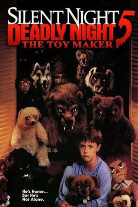 silent night deadly night 5 the toy maker movie poster cover