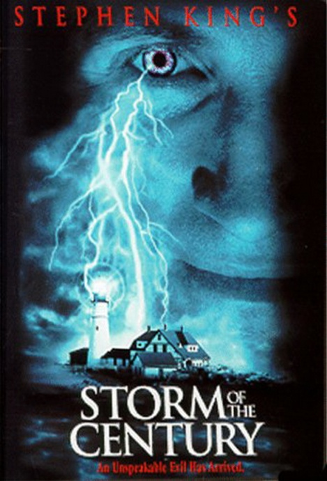 storm of the century movie poster cover stephen king large 1999