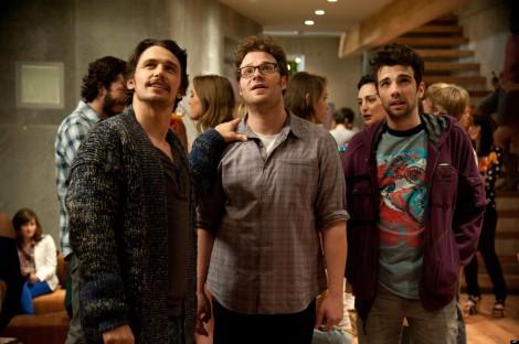 Seth Rogen;Jay Baruchel;James Franco