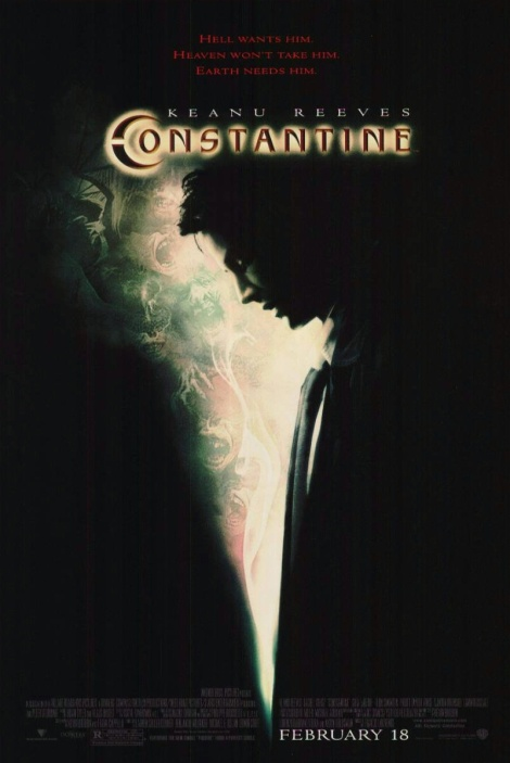 constantine movie poster 2005 big keanu reeves