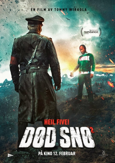 dead snow 2 red vs dead movie poster