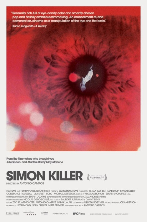simon killer movie poster 2012 large big