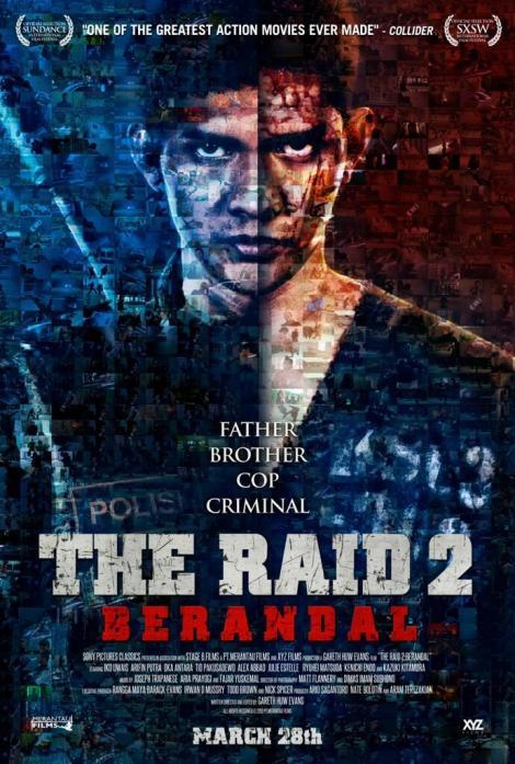 the raid 2 berandal movie poster 2014