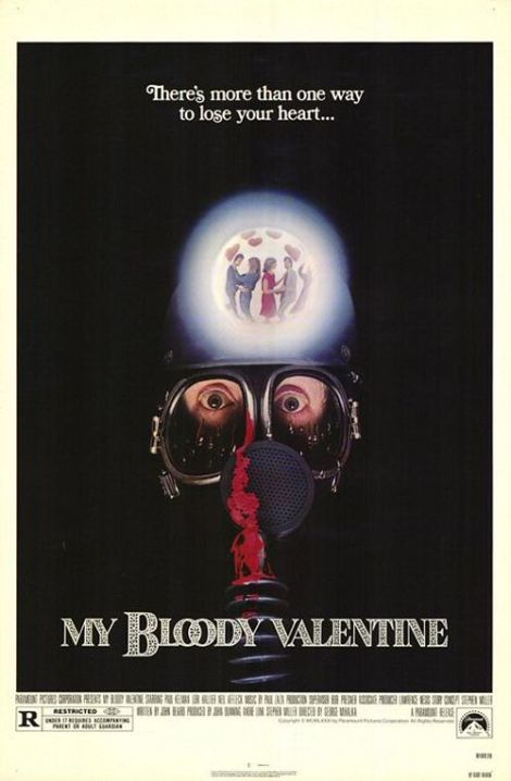 my bloody valentine movie poster 1981