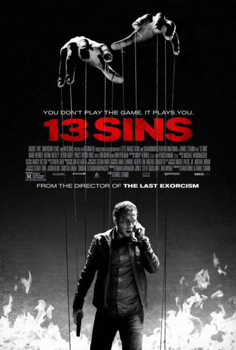 13 sins movie poster ron perlman mark webber 2014