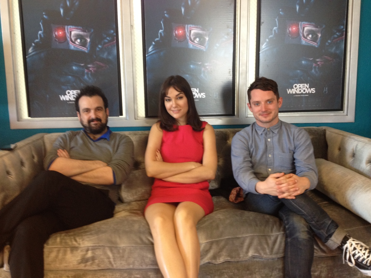 Writer/director Nacho Vigalondo and stars Elijah Wood and Sasha Grey talk Open Windows [INTERVIEW] [SXSW '14]