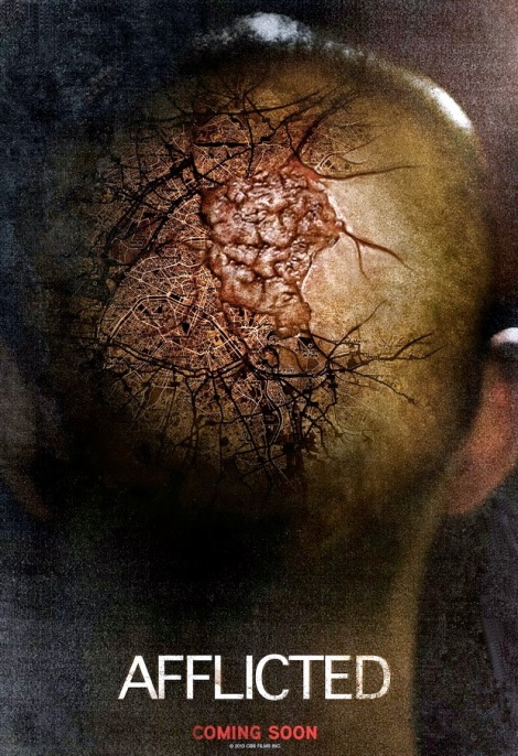 afflicted movie poster 2014 derek lee clif prowse