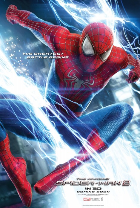 amazing spider-man 2 movie poster large