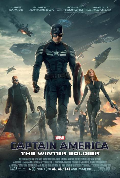 captain america the winter soldier movie poster large 2014