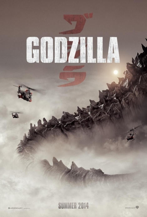 godzilla movie poster large 2014