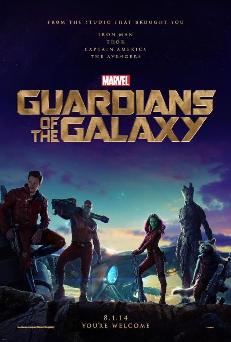 guardians of the galaxy movie poster 2014 large